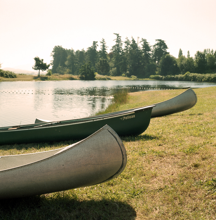 Canoes on samish web