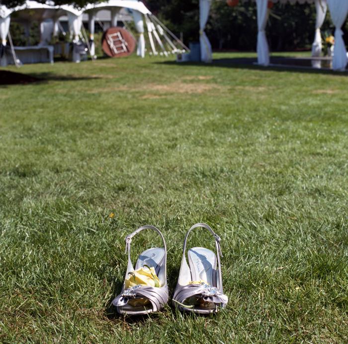 High heels wedding web