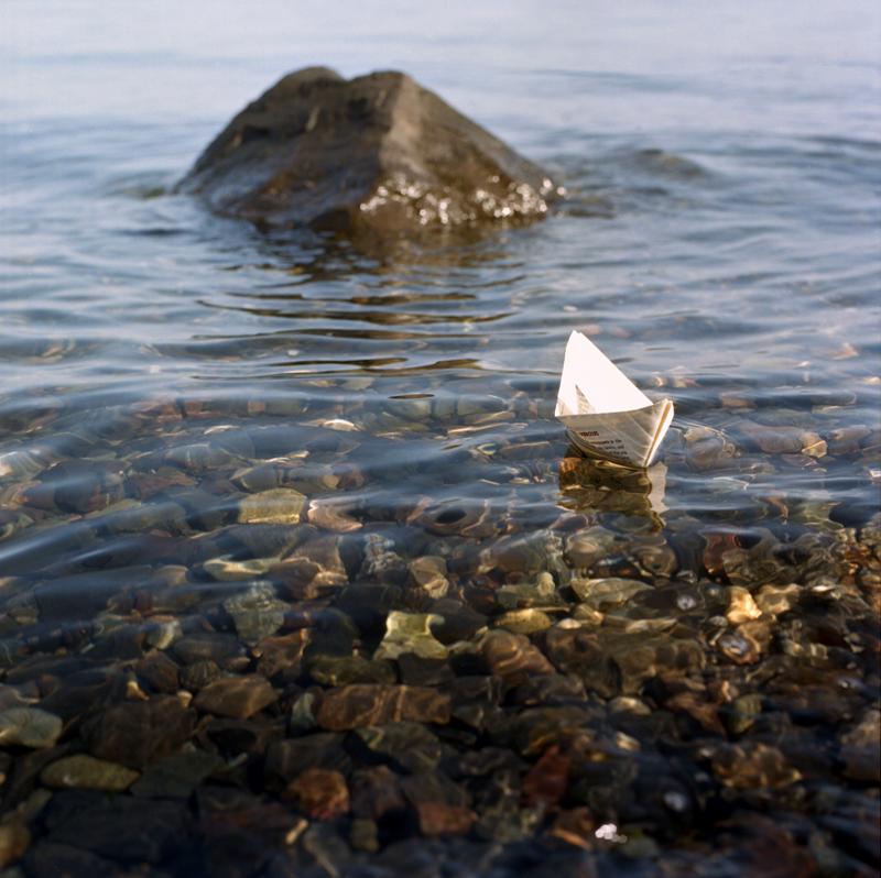 Paper boat web