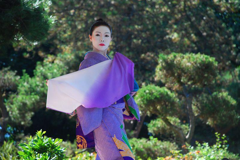 Kabuki dancer cloth down