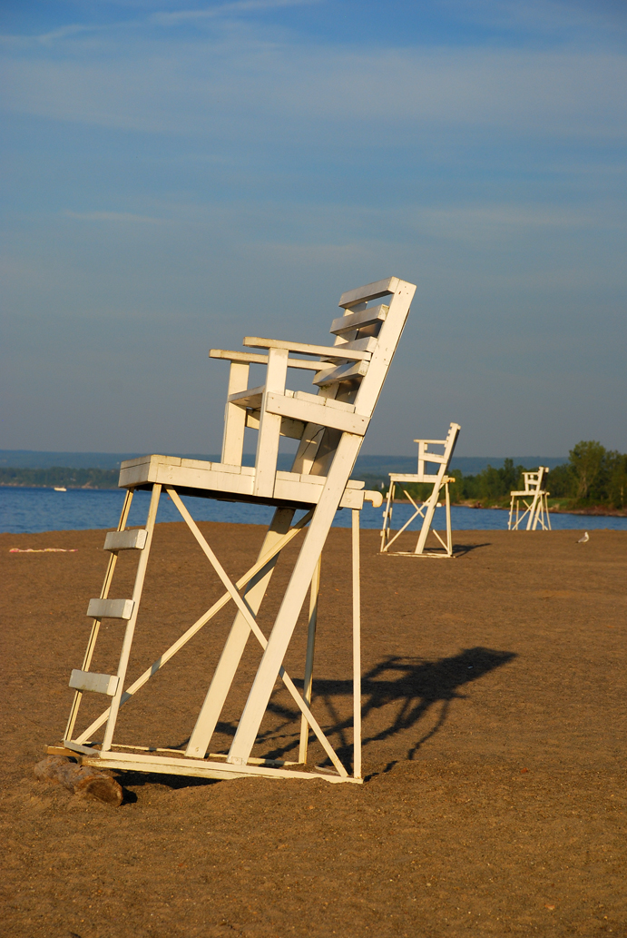 Presque isle empty chair