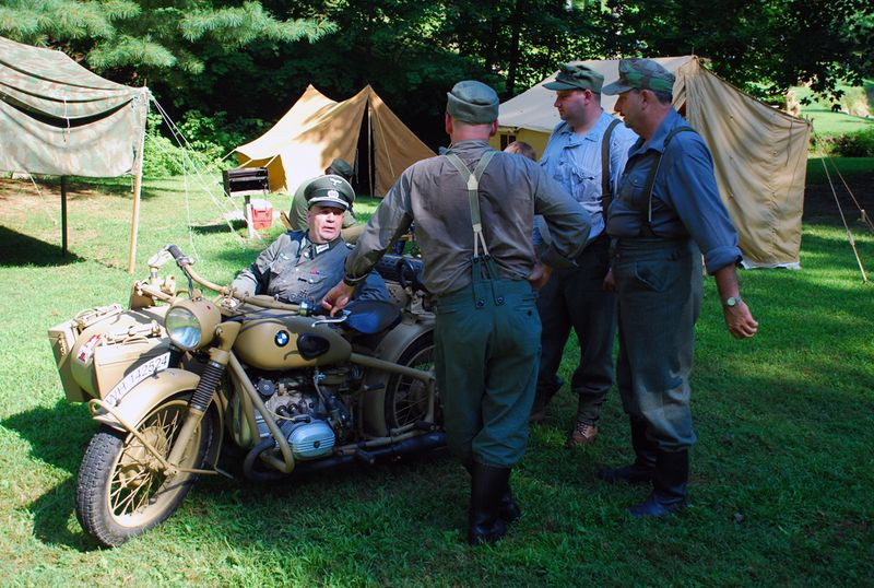 German group motercycle